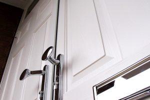 Dual white composite door